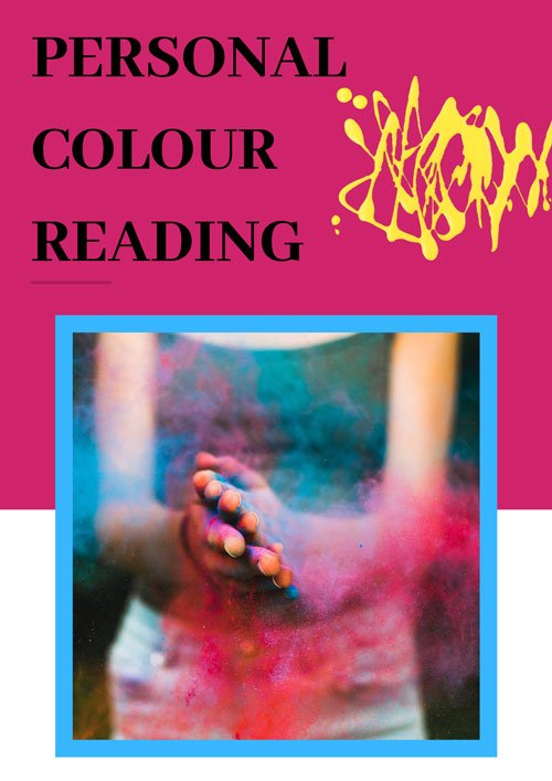 Your personal colour reading